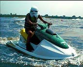 stormtrooper on the jet-vehicle